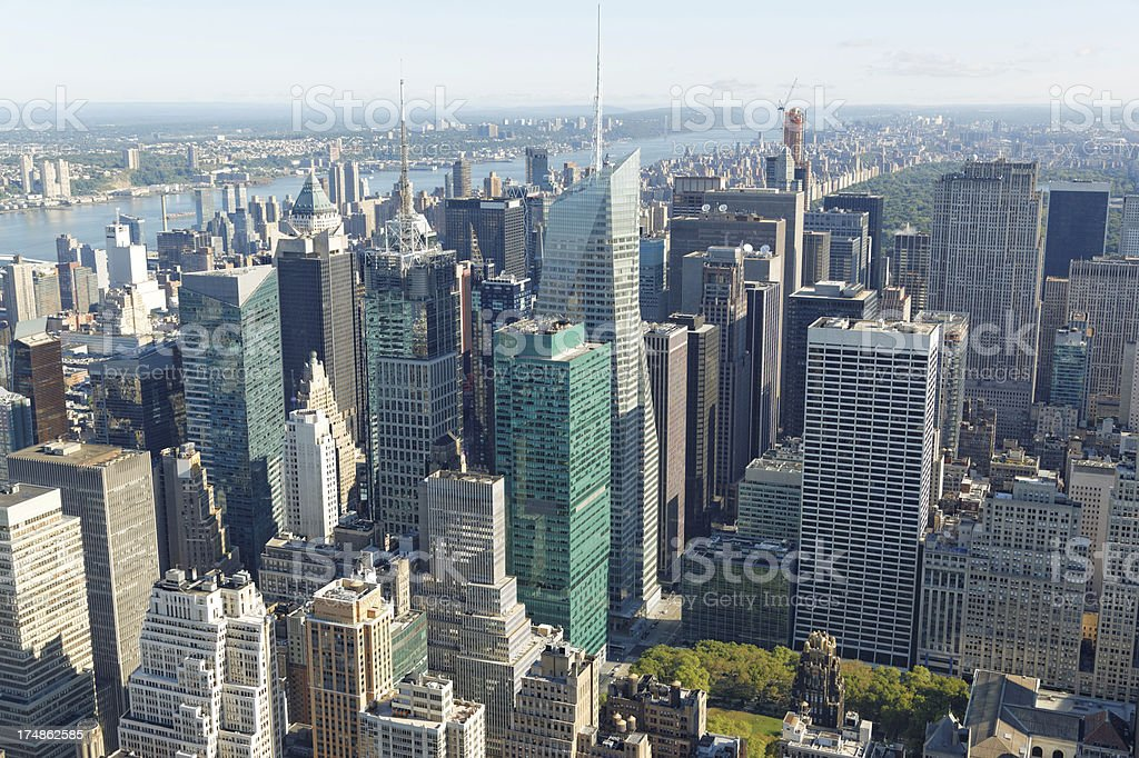 New York downtown XXXL royalty-free stock photo