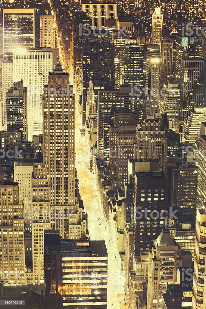 New York Fifth Avenue royalty-free stock photo