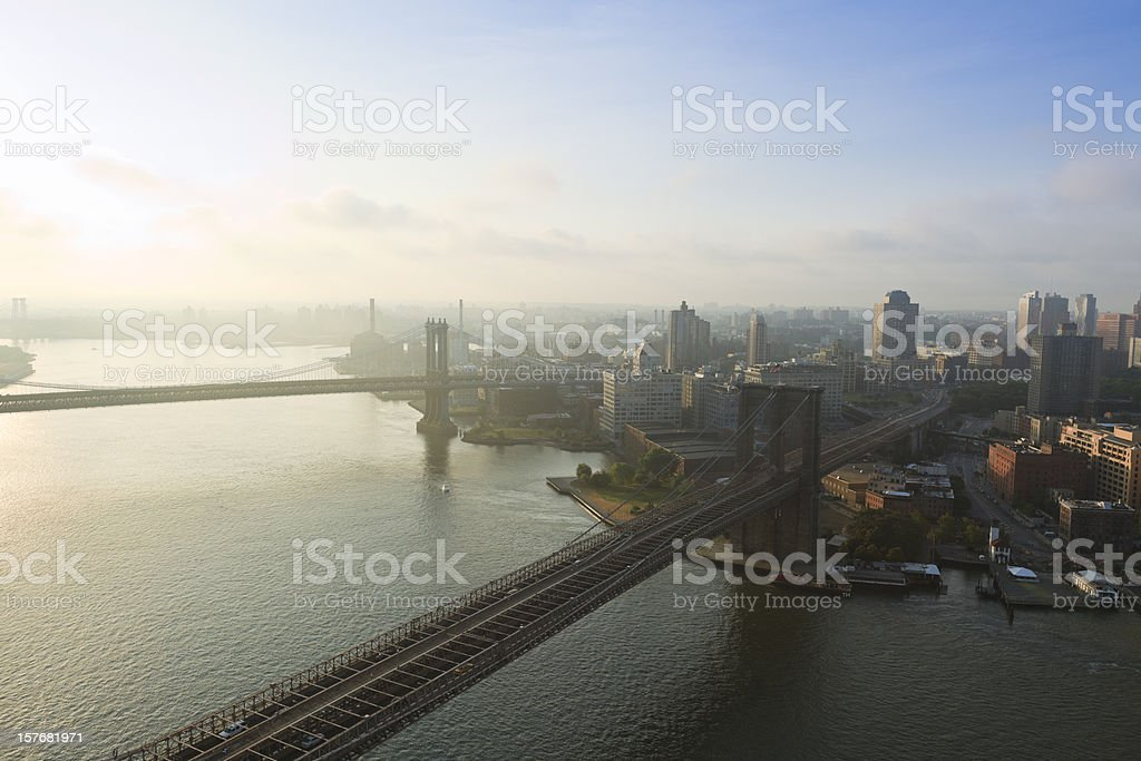 New York from above royalty-free stock photo