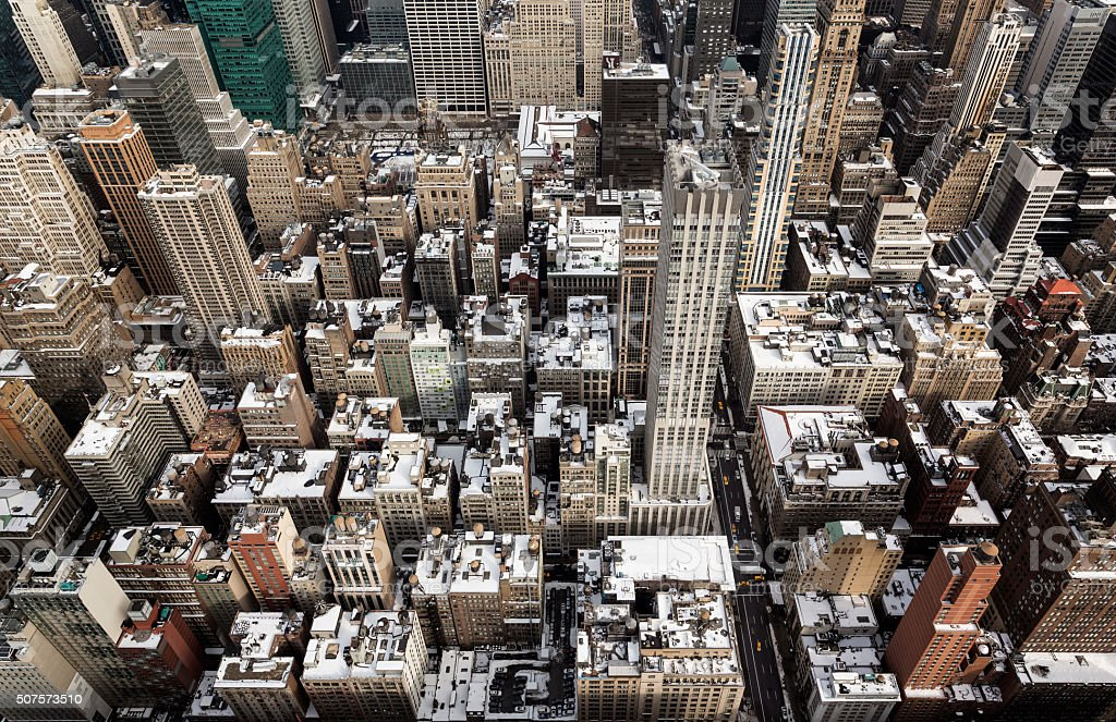 New York From The Top stock photo