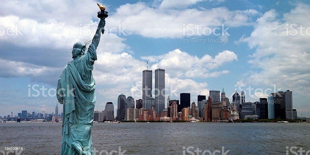 New York Harbor stock photo
