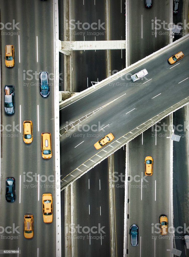 New york highways stock photo