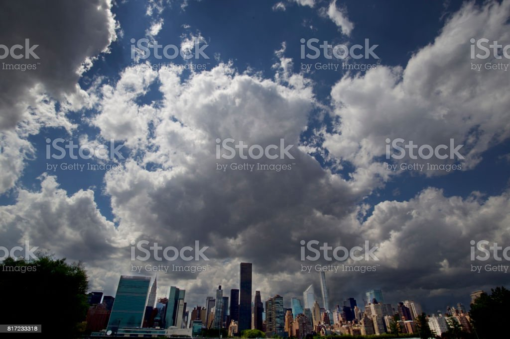 New York Landscape stock photo