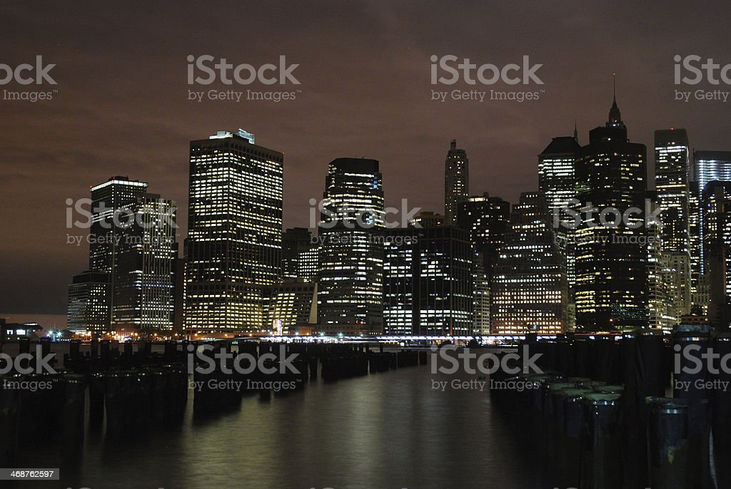 New York - Lower Manhattan royalty-free stock photo