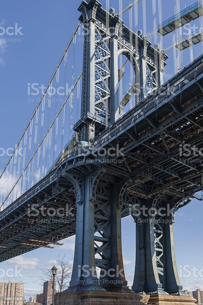 New York Manhattan Bridge Lizenzfreies stock-foto