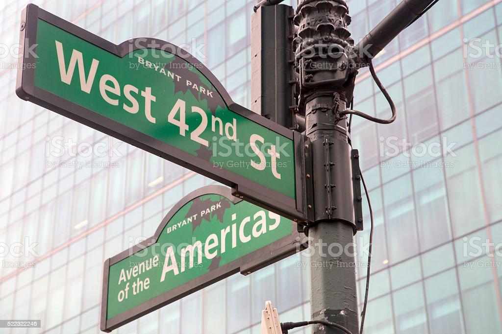 USA - New York - Midtown stock photo
