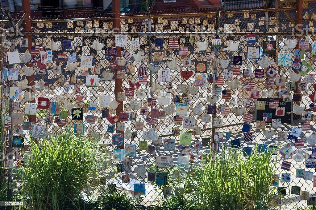 USA - New York - New York, September 11th Memorial stock photo
