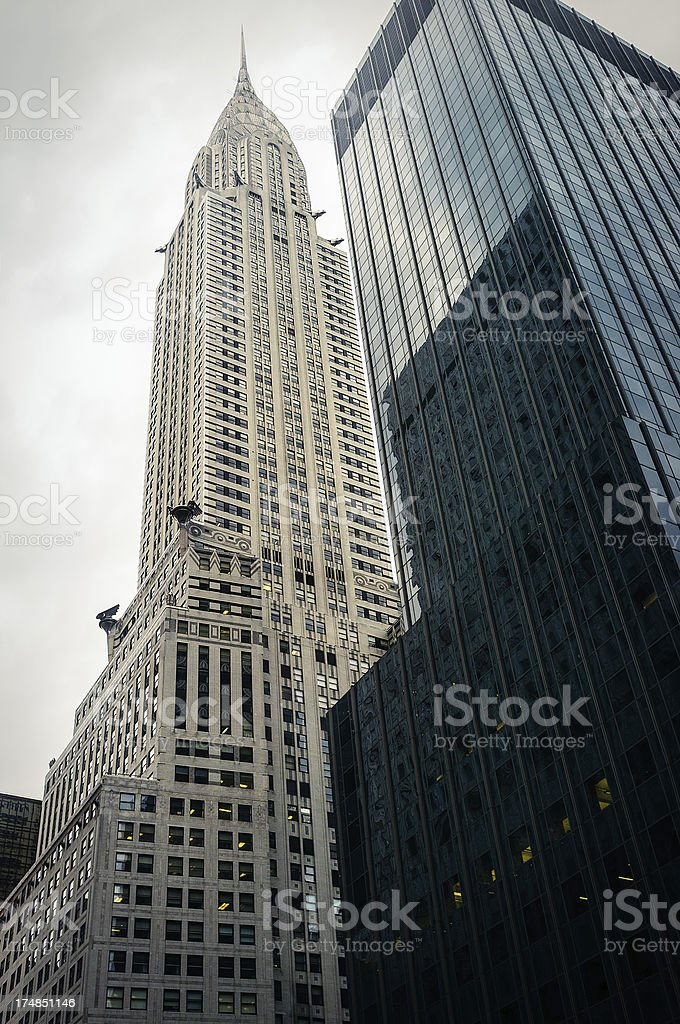 New York office skysraper royalty-free stock photo