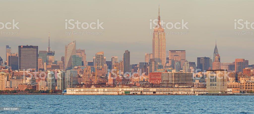 New York Panoramic Skyline stock photo