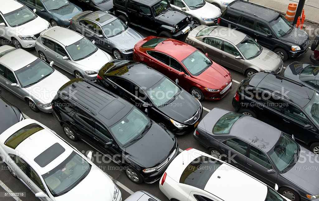 New York Parking Problems stock photo