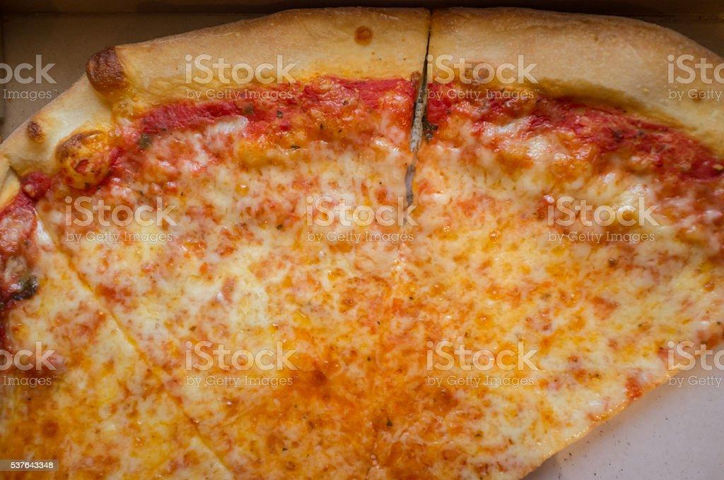 New York Pizza Pie stock photo