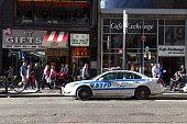 New York Police Department Car