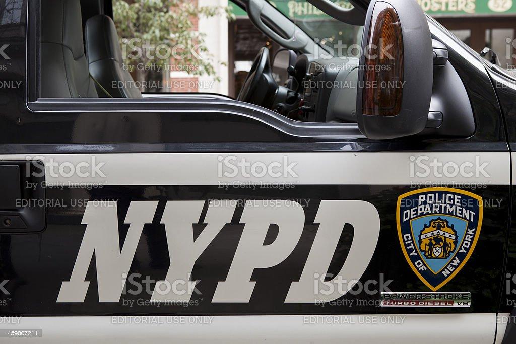 New York Police Department stock photo