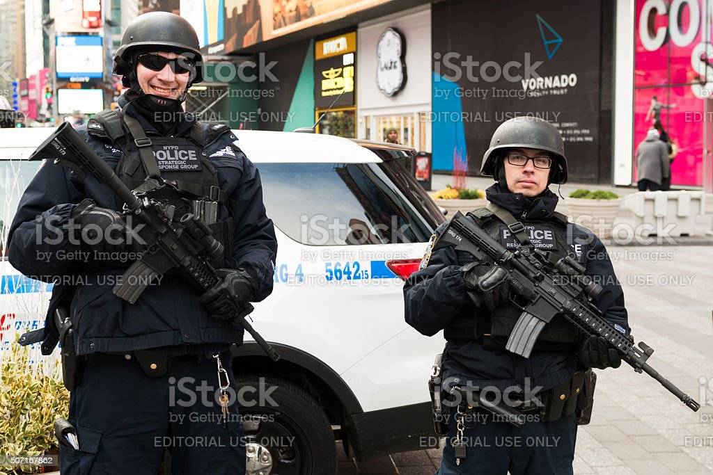 New York Police Department stock photo