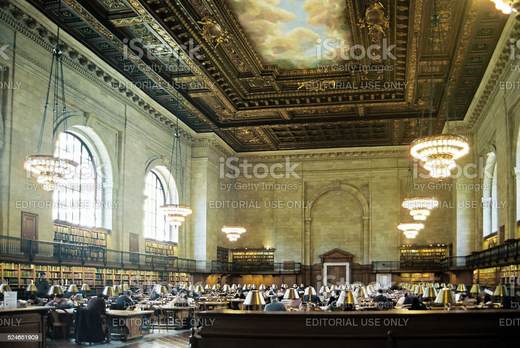 New York Public Library, USA stock photo
