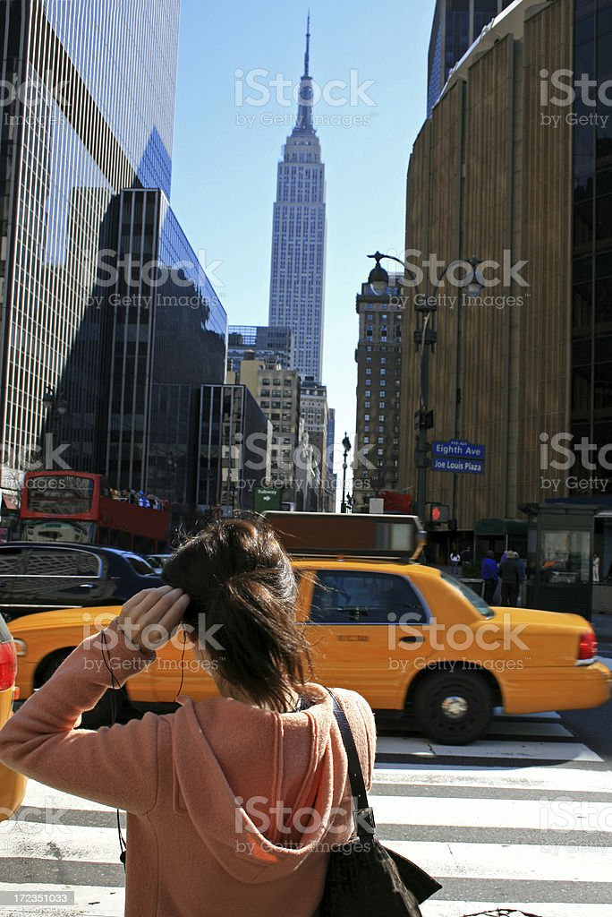 New York scene royalty-free stock photo
