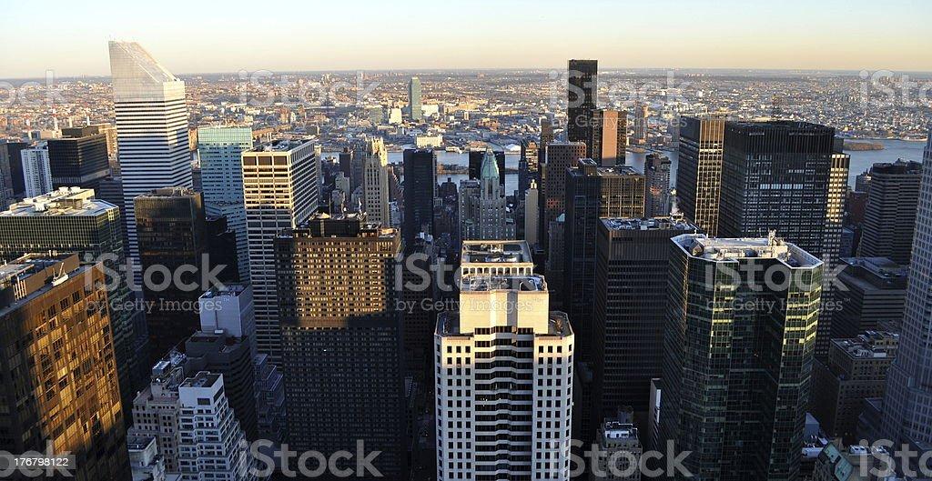 Zwiedzanie Nowego Jorku Manhattan zbiór zdjęć royalty-free