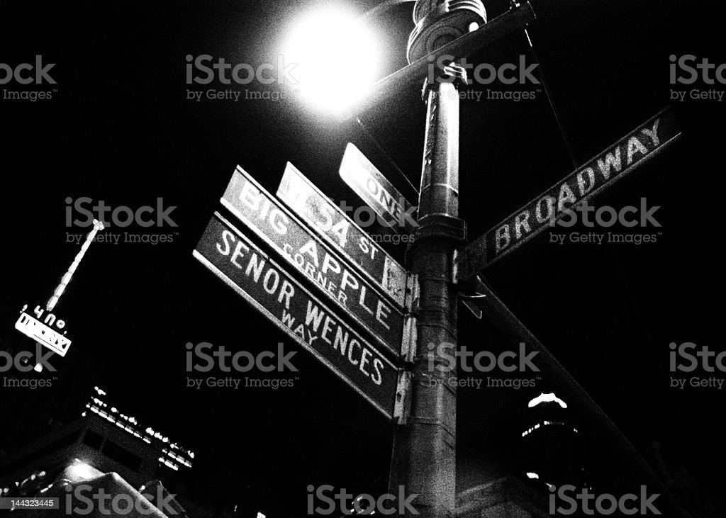 new york sign royalty-free stock photo