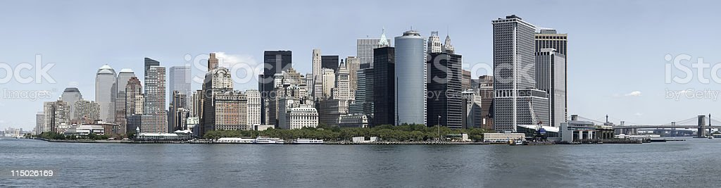 XXL New York Skyline royalty-free stock photo