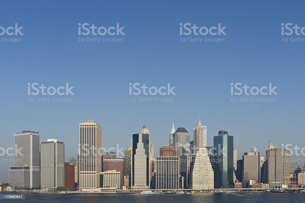 New York Skyline royalty-free stock photo