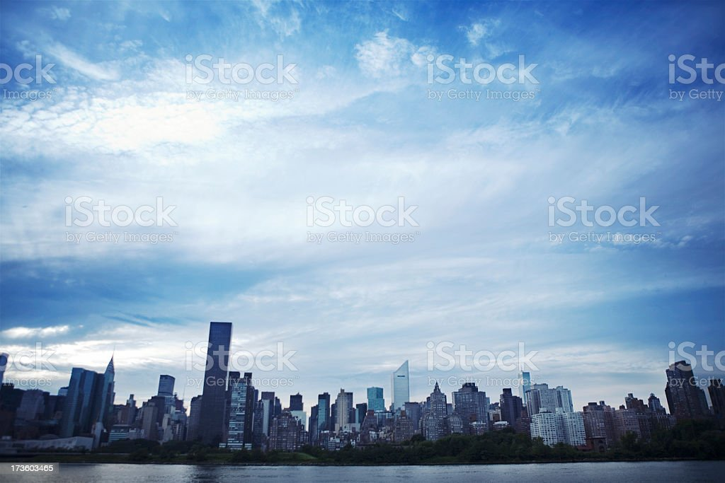 New York Skyline royalty-free stock photo