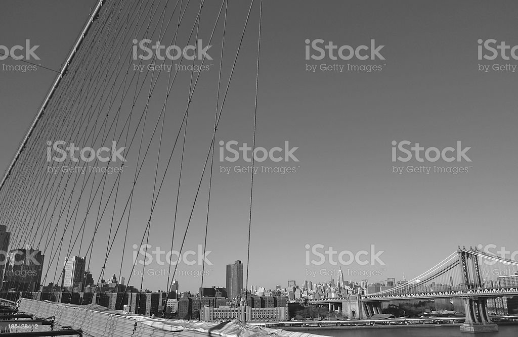 New York skyline with copy space. royalty-free stock photo