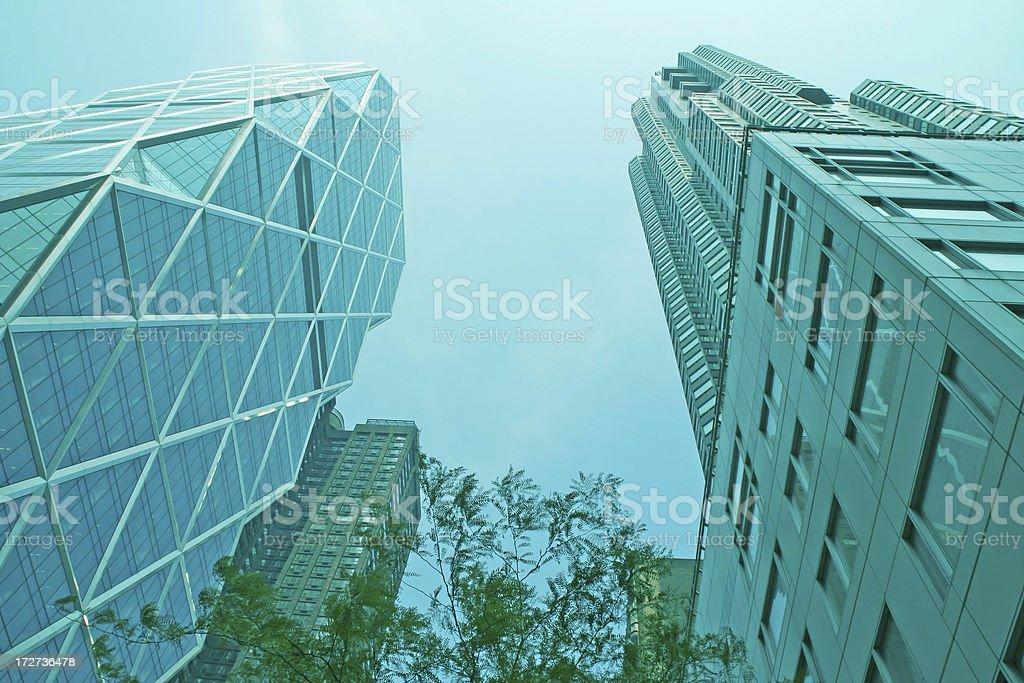 New York skyscrapers royalty-free stock photo