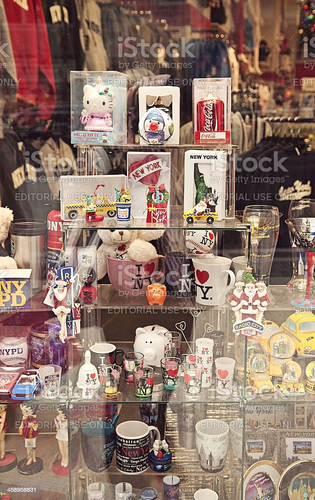 New York Souvenirs and Gifts royalty-free stock photo