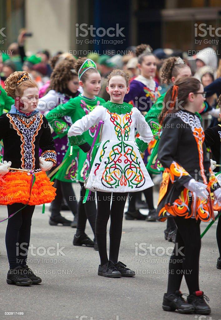 New York St Patrick's Day Parade stock photo