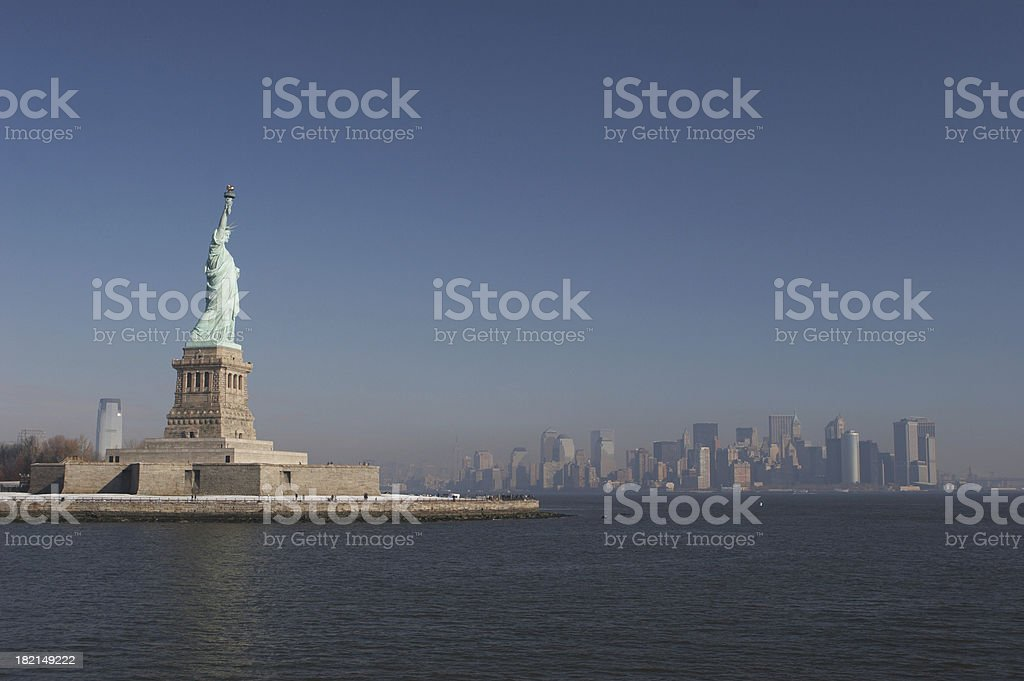 New York - State of Liberty royalty-free stock photo