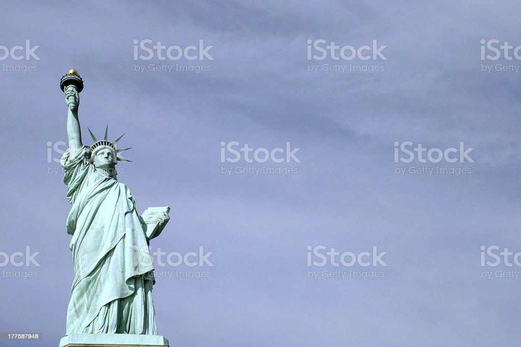 New York Statue of Liberty royalty-free stock photo