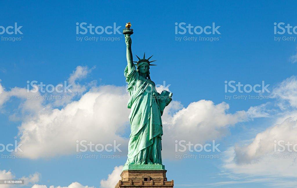 New York Statue of Liberty stock photo
