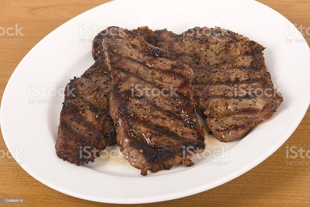 New York Steak royalty-free stock photo