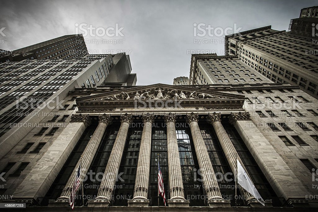 New York Stock Exchange NYSE, NYC, stock photo