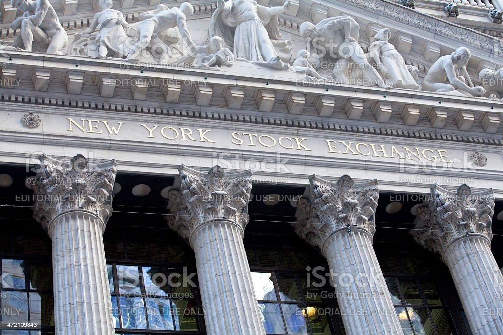 New York Stock Exchange stock photo