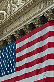 New York Stock Exchange Stars and Stripes Wall St USA