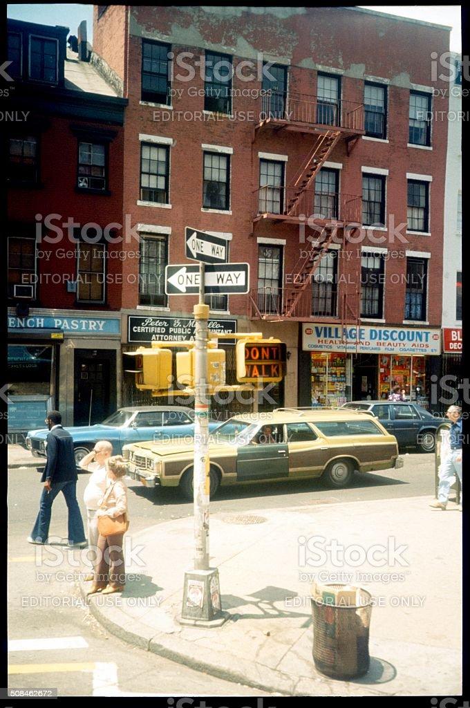 New York Street Scene stock photo