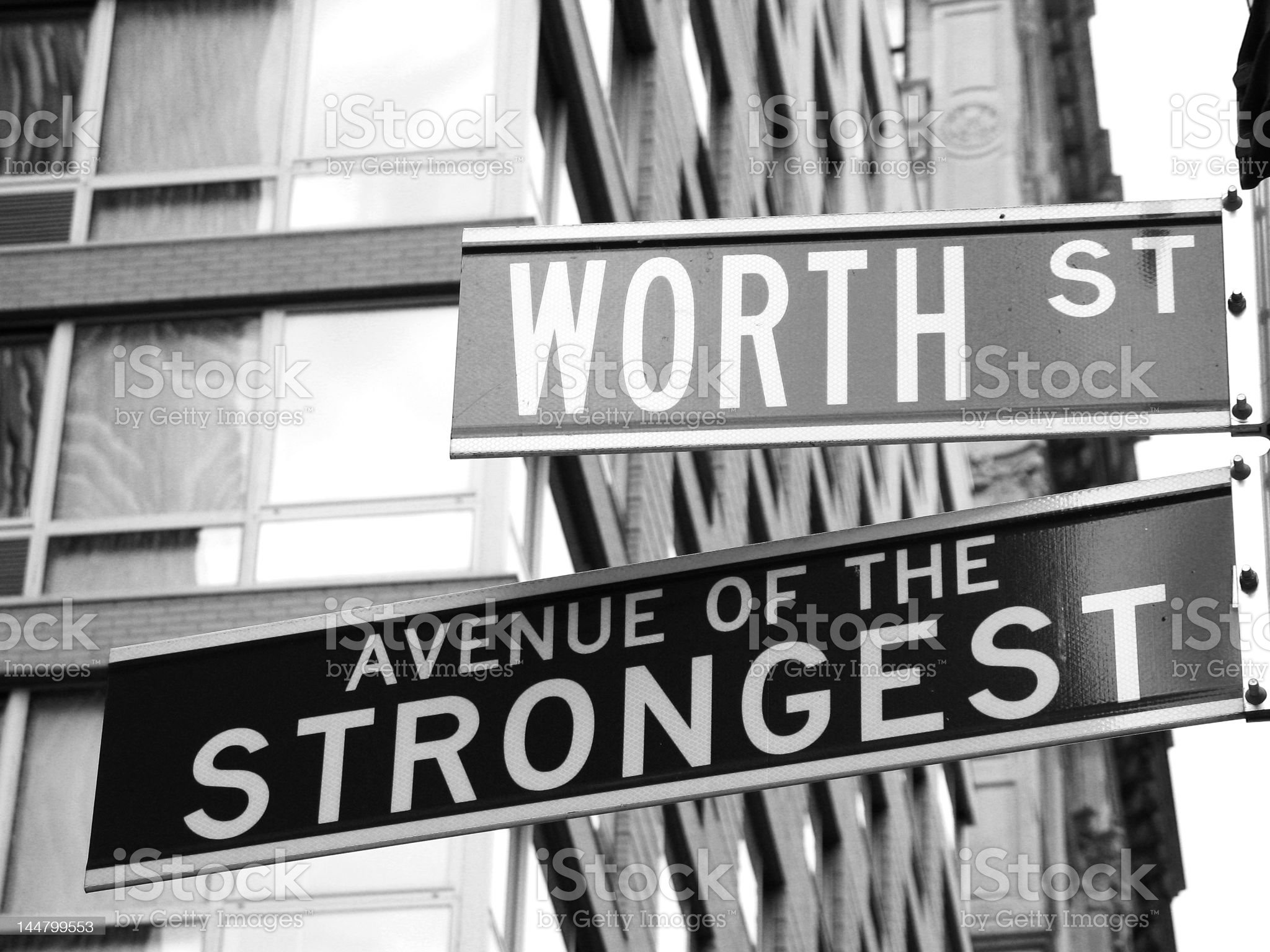 New York Street sign royalty-free stock photo