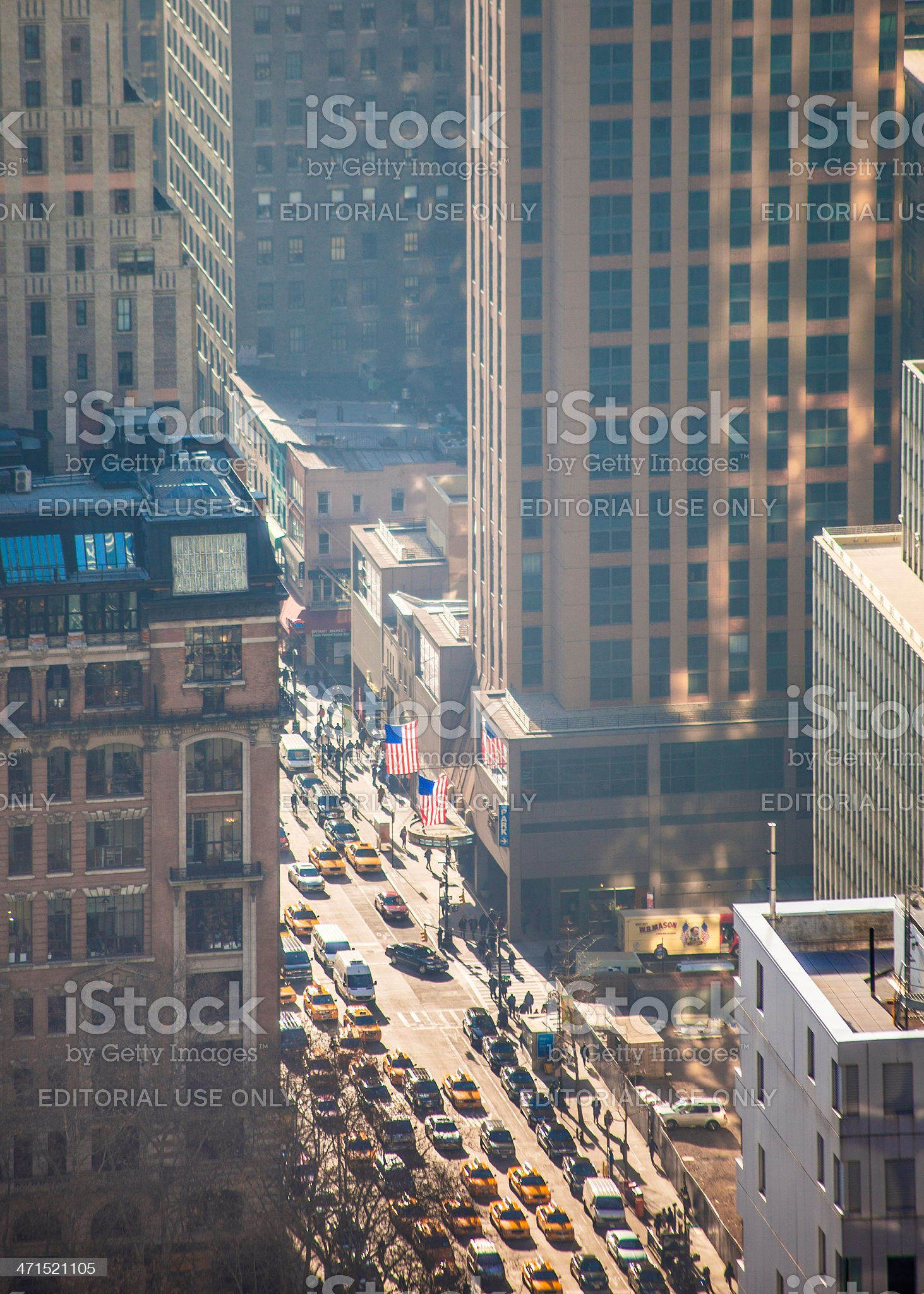 New York streets. royalty-free stock photo