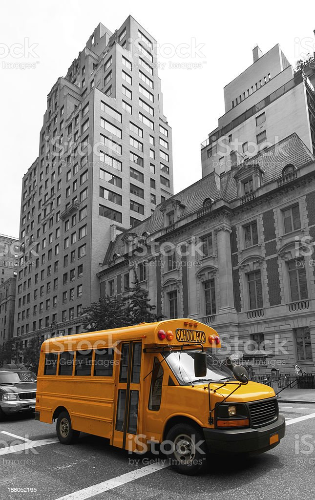 New York streets, USA royalty-free stock photo