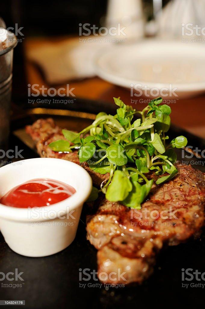 New York Strip Steak royalty-free stock photo