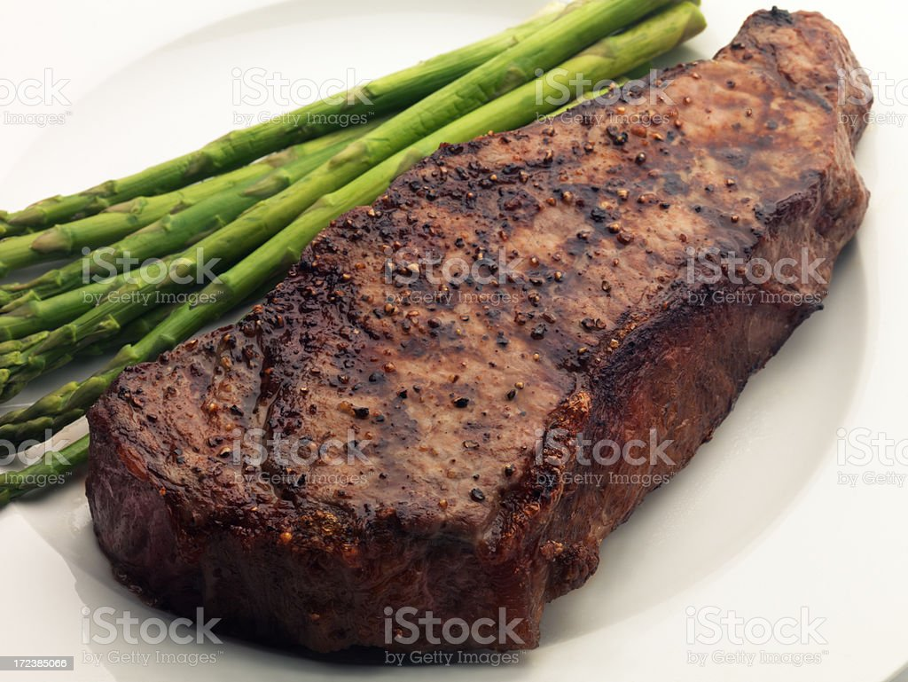 New York Strip Steak royalty-free stock photo