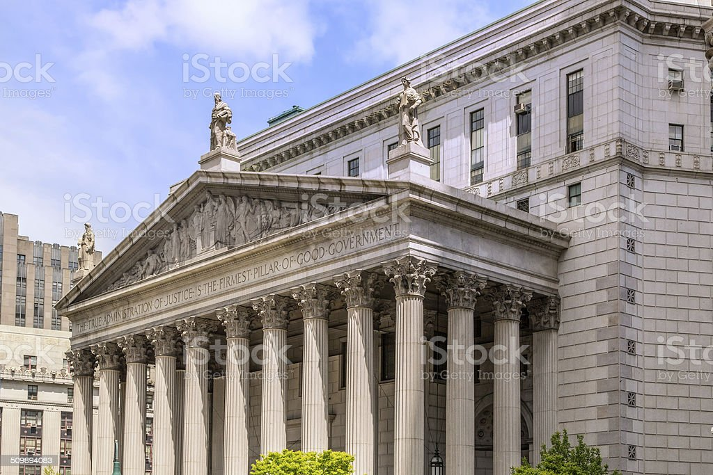 New York Supreme Court stock photo