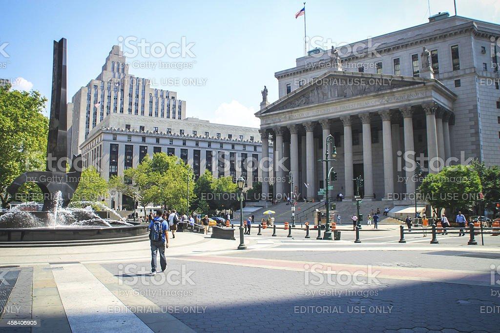 New York Supreme Court, USA stock photo