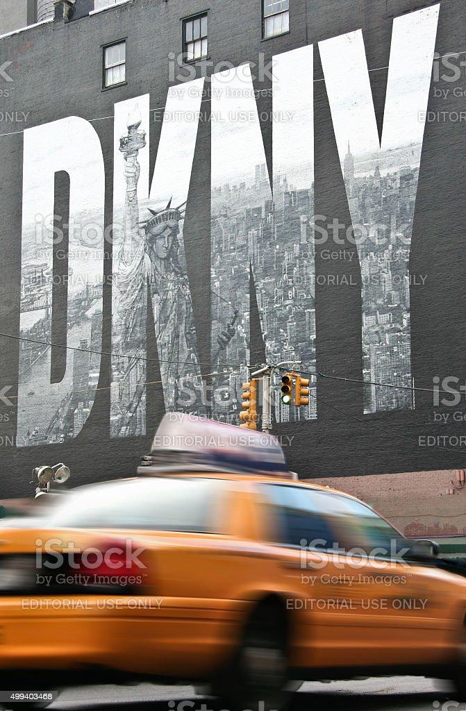 New York symbols stock photo