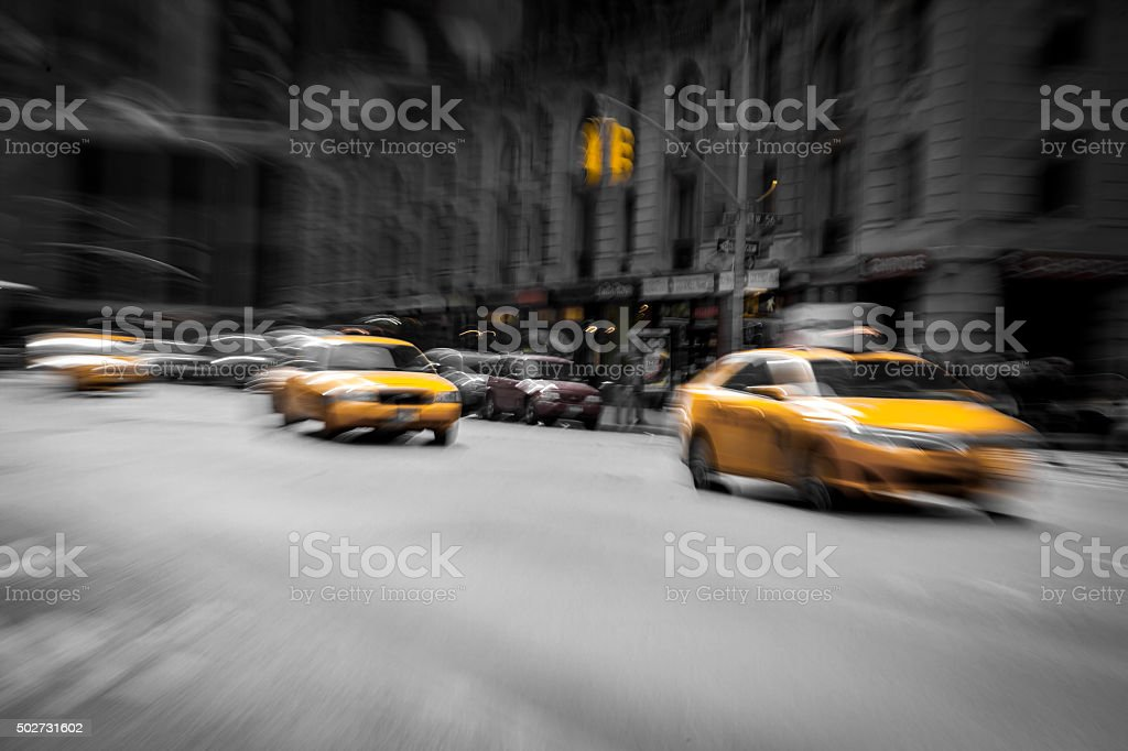 New York Taxi stock photo