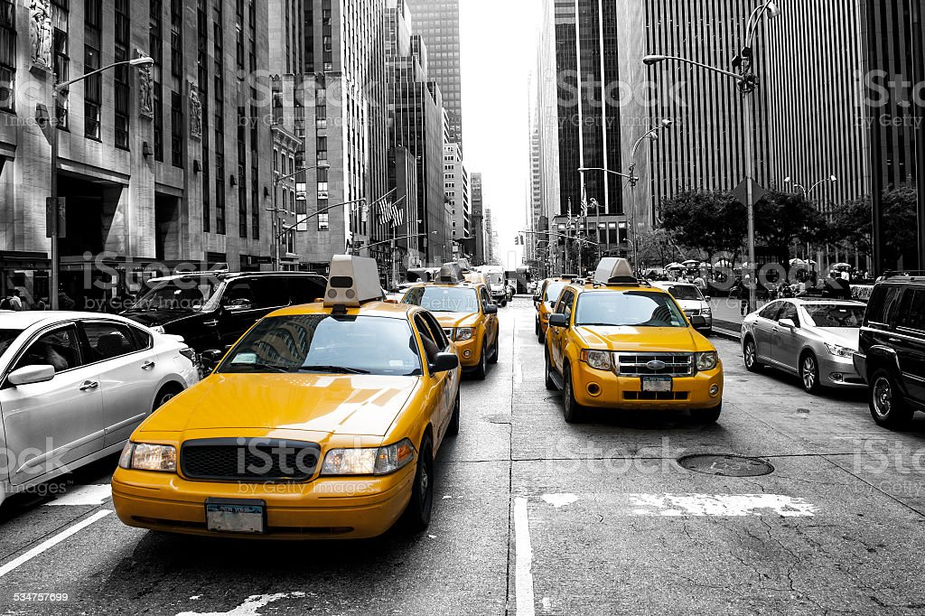 New York Taxy stock photo
