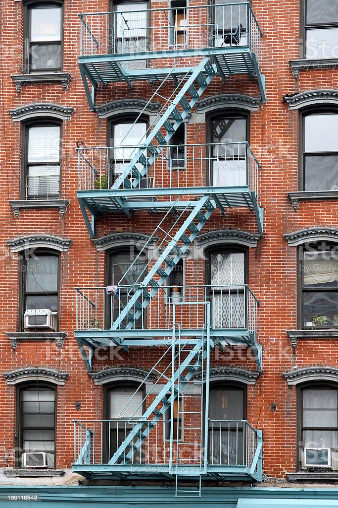 New York Tenement royalty-free stock photo
