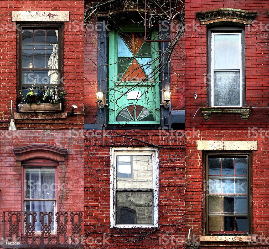New York textures stock photo