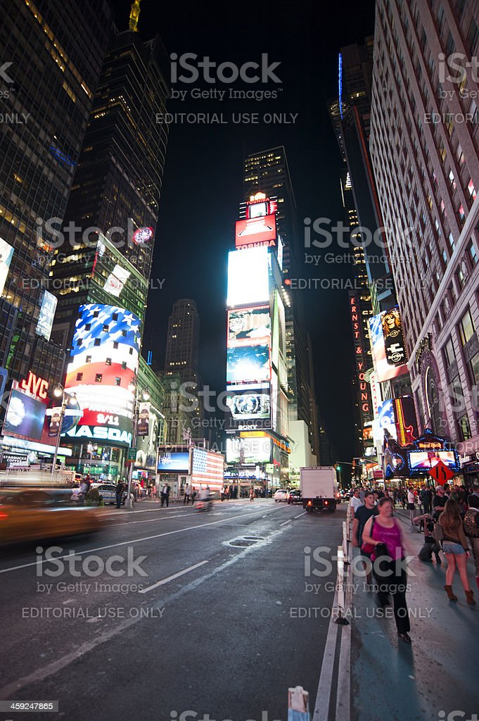 New York Times Square royalty-free stock photo